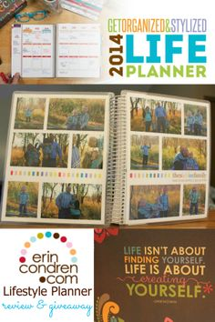 Erin Condren Life Planner Review & Giveaway | Our Knight Life