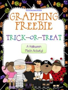 Halloween Math FREEBIE! Graphing (bar graphs and pictographs) - The Center Based Classroom