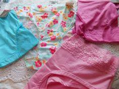 2XL Lot/4 Secret Treasures Women's Cotton/Spande Briefs Floral Panties  #SecretTreasures #BriefsHiCuts
