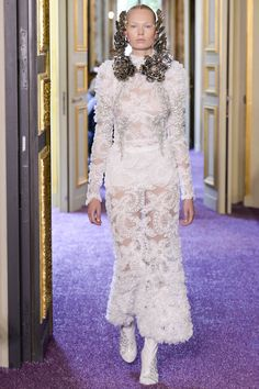 Francesco Scognamiglio Fall 2016 Couture Fashion Show - Jenni Penttinen