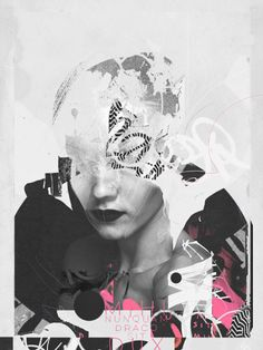 Art Direction, Digital Art and Graphic Design Collages - 2015 by Raphael Vicenzi - This Designed That Art Du Collage, Collage Illustration, Digital Collage, Digital Art, Surreal Collage, Collages, Graffiti, Fashion Collage, Fashion Art