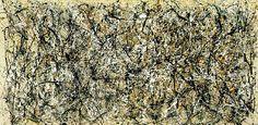 """Wie sieht es aus, wenn man den Extrempunkt der Subjektivität erreicht? (Jackson Pollock, One - Number 31 1950 1950) Sie steckt wohl noch in jedem, diese Urmasse, aus der Prometheus den Menschen formte. Husserl nannte es """"Lebenswelt"""" - es ist die unendliche Verflochtenheit jeder Einzelheit mit dem Ganzen..."""