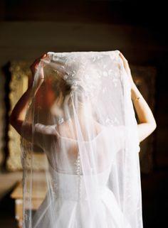 beautiful antique veil