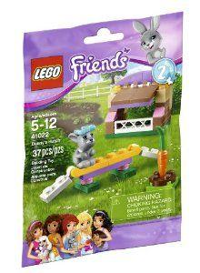Amazon.com : LEGO Bunny Hutch Playset : Toy Interlocking Building Sets : Toys & Games