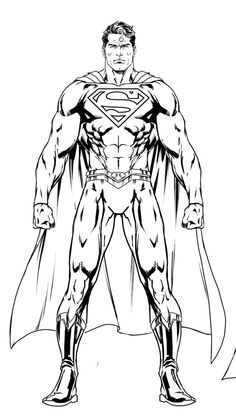 Comic Book Artists, Comic Book Heroes, Comic Books Art, Comic Art, Superman Art, Batman, Dc Comics Art, Anatomy Drawing, Comic Styles