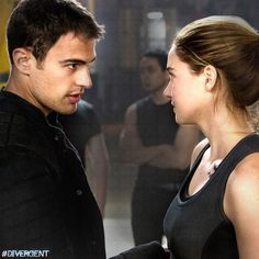 Divergent is the latest YA adaptation to get the movie treatment, and the film debuts this weekend, with Shailene Woodley and Theo James in the starring roles. Tris And Tobias, Tris And Four, Tris Prior, Divergent Trilogy, Divergent Insurgent Allegiant, Divergent Fandom, Shailene Woodley, Theo James, James 4