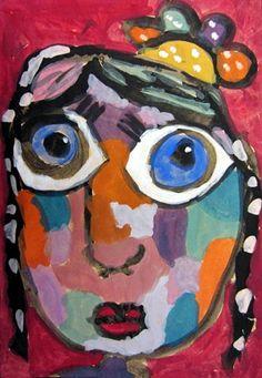 """Self portraits Matisse style"""