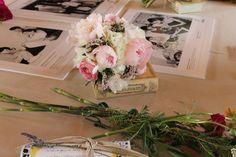 Ramo de novia en el taller con Suárez