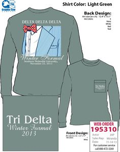 Delta Delta Delta, Winter Formal, Seersucker Suit, Bow tie