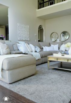 Kelley Nan: Form vs. Function in the Family Room: Balancing the Pretty with the Practical