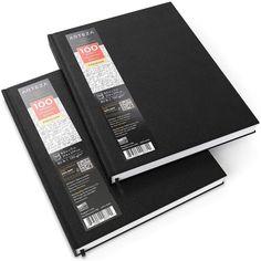 Hardcover Book Binding, Hardcover Sketchbook, School Supplies, Art Supplies, Office Supplies, Sewing Binding, Sketch Journal, Stabilo Boss, Gel Ink Pens