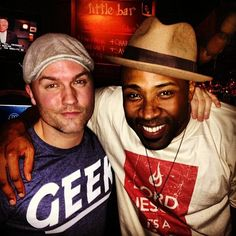 Hart of Dixie's Scott Porter and Cress Williams spent some time together off the set.