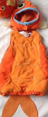 Kids Costumes: New Pottery Barn Kids Goldfish Halloween Toddler Costume 2T 3T -> BUY IT NOW ONLY: $40 on eBay!