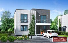 House design Miejski NF40, wizualizacja 1