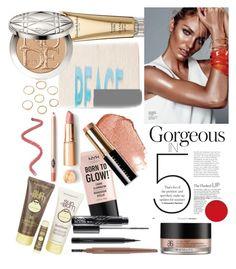 """Summer Glow☀"" by sindhunaga4 on Polyvore featuring beauty, NYX, Elizabeth Arden, Bobbi Brown Cosmetics, Christian Dior, Sun Bum, MAC Cosmetics and Arbonne"