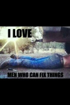 I LOVE that my guy can fix anything an everything <3