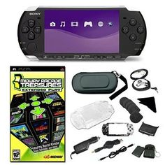 Sony PSP3000 Super Holiday Bundle with Games and Accessories ** Want additional info? Click on the image.