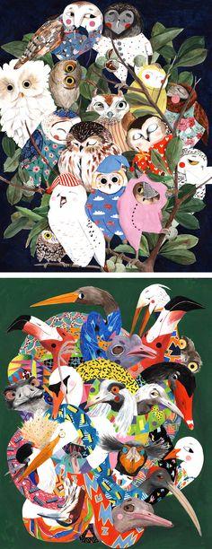Animal illustrations Lihie Jacob