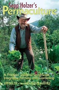 Permaculture Media Blog - Has free webinars, and ebooks and ebook previews. Sepp Holzer farms steep mountainsides in Austria 1,500 meters above sea level. His farm is an intricate network of terraces, raised beds, ponds, waterways and tracks, well covered with productive fruit trees and other vegetation, with the farmhouse neatly nestling amongst them.  Sounds nice, huh?