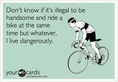 :) breaking the law honey!