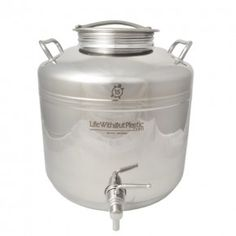 Stainless Steel Dispenser 15 L (3.9 gal.) by Life Without Plastic