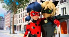 Ladybug E Catnoir, Ladybug Und Cat Noir, Ladybug Comics, Lady Bug, Marinette Et Adrien, Kids Shows, The Villain, Paris, Miraculous Ladybug