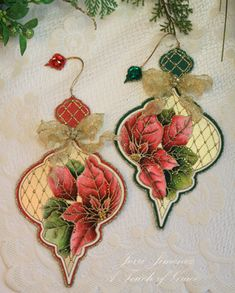 A Touch of Grace » Spellbinders Jeweled Ornaments