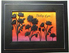 PartiCraft (Participate In Craft): Floral Sunset