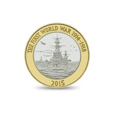 The Royal Navy 2015 £2 Commemorative Coin | The Royal Mint. £10.00 http://www.royalmint.com/shop/The_Royal_Navy_2015_UK_2_pound_Brilliant_Uncirculated_Coin