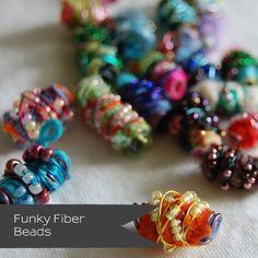 Tutorial: Funky Fiber Beads