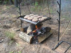 A NEW campfire cooking system is HERE! Check it out! The Steelman Cooking System