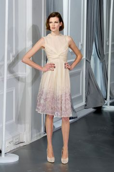 Just beautiful!  Christian Dior Couture Spring 2012.  Why haven't these silhouettes trickled down to the mass retailers yet??