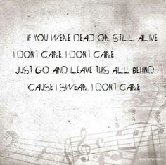 """""""I Don't Care"""" ~Apocalyptica ft. Adam Gontier"""