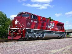 UP 1988, Missouri–Kansas–Texas Railroad heritage locomotive