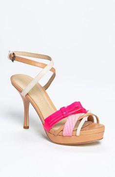 Love, Love, Love these!!!  Vera Wang Footwear 'Qatara' Sandal available at #Nordstrom