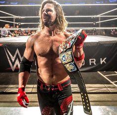 New US Champion AJ Styles!!!