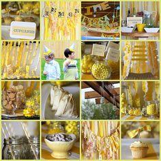 Lemon Party   yellow, yellow, yellow Lemons to Lemonade Farewell Party
