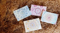 Watercolor Tapestry Greeting Cards GYLPrints