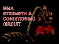 MMA Strength And Conditioning Circuit - Advanced