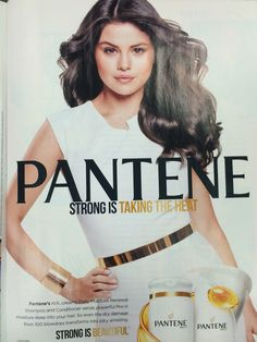 Advertisement #1: Pantene Hair Care.