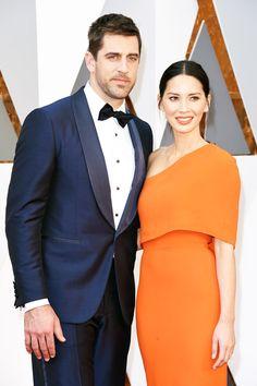 Оскар-2016 - Оливия Манн и Аарон Роджерс