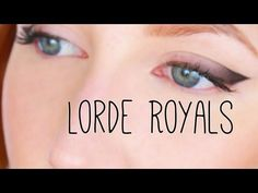 Lorde Royals Official Music Video Makeup Tutorial