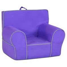 Zippity Kids Suede Grab and Go Chair - Perfectly... : Target