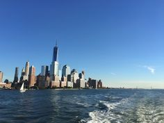 Ah the clear blue skies and the Manhattan skyline...consoling with these warm pictures instead of the dark clouds !