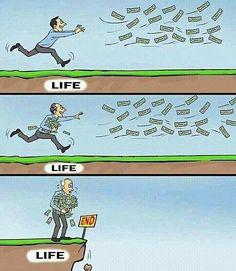 Parayı da götürebileceğinizi düşünüyorsanız koşmaya devam!