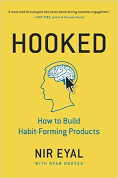 Maxime picked up Hooked: How to Build Habit-Forming Products .