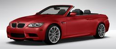 2013 M3 Convertible in Melbourne Red. One of my all time favorite road vehicles and it looks better than ever! Only $87,239!