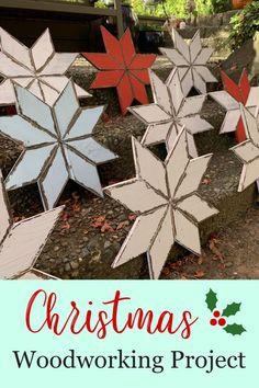 – The Best DIY Outdoor Christmas Decor Diy Christmas Snowflakes, Christmas Wood Crafts, Outdoor Christmas Decorations, Diy Christmas Gifts, Simple Christmas, Handmade Christmas, Christmas Ideas, Christmas Holidays, Xmas