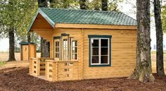 Cabin Loft Wood Small | Forester Small Cabin from Dream Home
