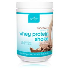 Activz Protein Shake Review from Things That Make People Go Aww.  Check out this #review on how one blogger is getting #healthier using Activz #protein!